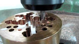 lengthened WC milling cutter milling copper