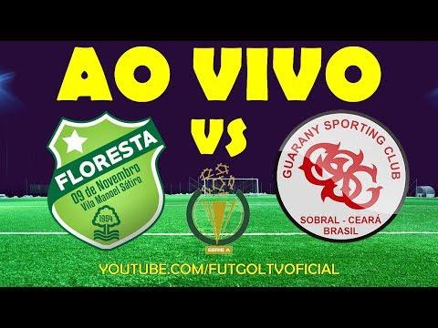 🔴 FLORESTA X GUARANY DE SOBRAL AO VIVO HD   CAMPEONATO CEARENSE   16/01/2019