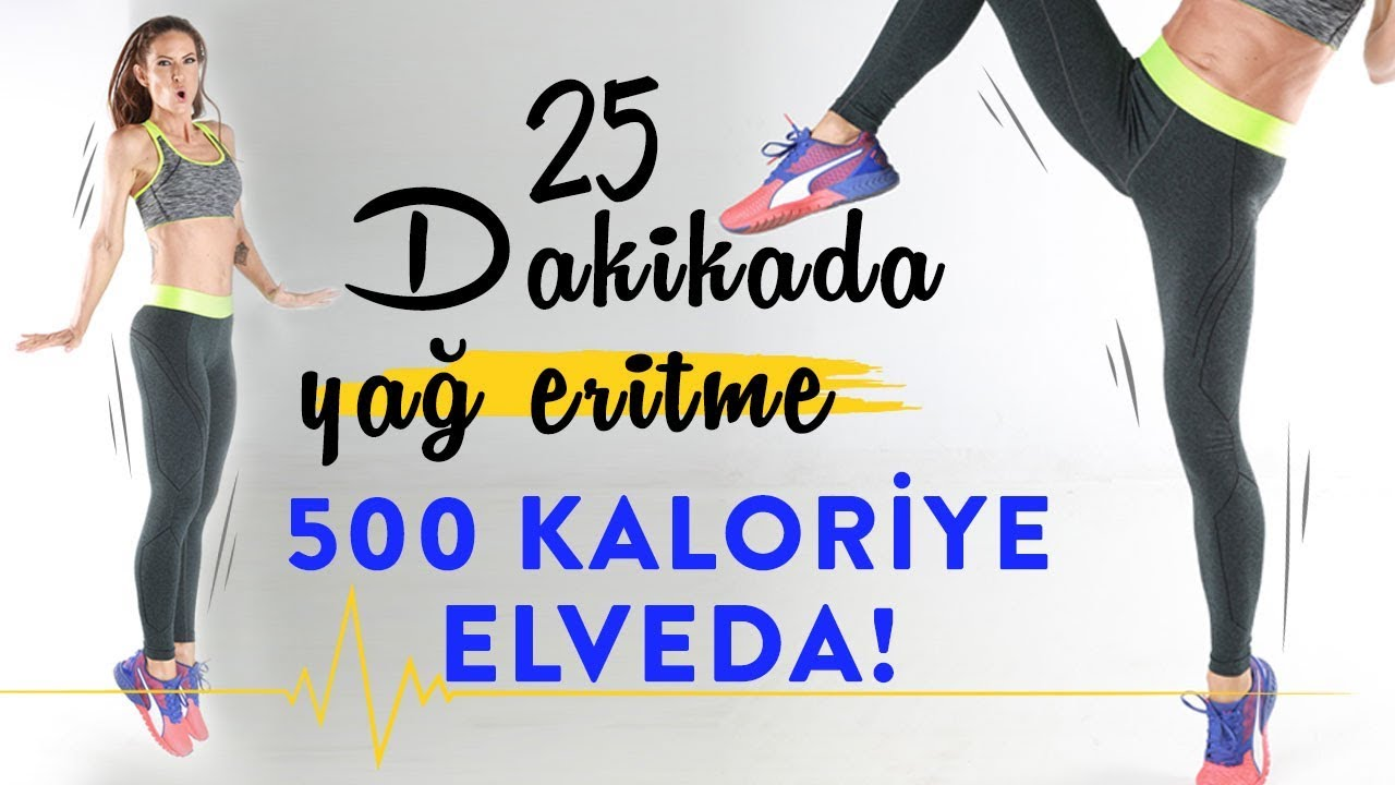 15 Dakikada Yüksek Kalori Yakmanın Yolları