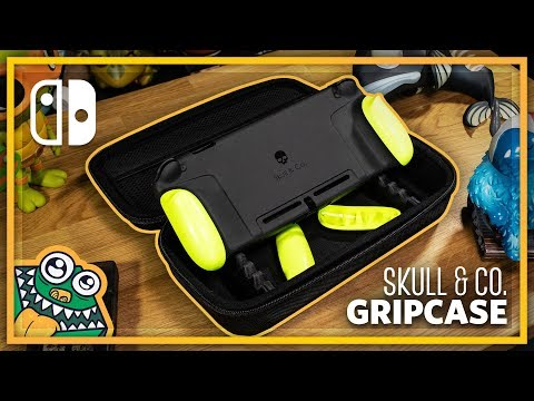 Skull & Co. Nintendo Switch GripCase Set - Review and Unboxing