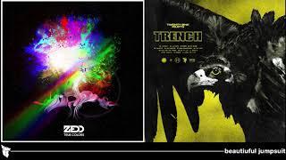 Скачать Zedd Twenty One Pilots Beautiful Jumpsuit Feat Jon Bellion Mashup