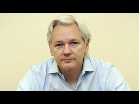 Julian Assange on Being Placed on NSA Manhunting List & Secret Targeting of WikiLeaks Supporters 1/2