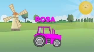 Wir lernen die Farben mit Traktor - Farben lernen für kleinkinder deutsch
