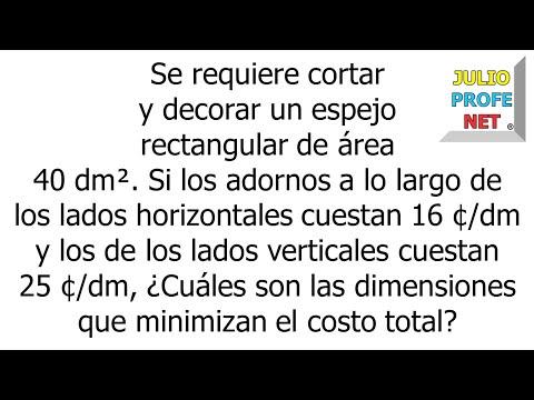MULTIPLICADORES DE LAGRANGE - Problema 1