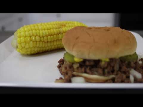 Iowa Loose Meat Sandwich