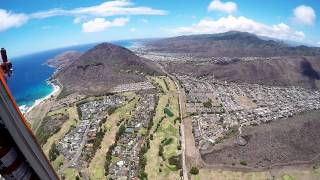 A doors off helicopter ride around beautiful Oahu, Hawaii