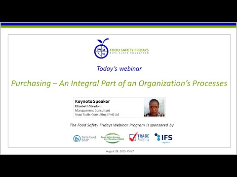 Purchasing – An Integral Part of an Organization's Processes