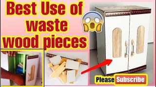 Recycling projects ideas ,waste wood pieces Best use to make kids furniture