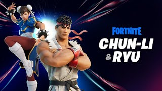 Legendary Fighters Ryu and Chun-Li Arrive Through the Zero Point