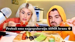 Probali smo najpopularniju ASMR hranu