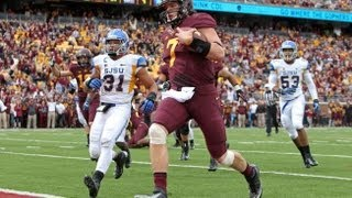 Highlights: Gophers, Leidner Run Over San Jose State 43-24