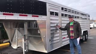 2019 Featherlite 8127-8024 Livestock Trailer