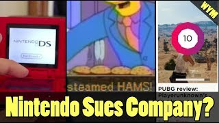 Nintendo Sues Company, Polygon Rates PUBG Perfect 10, Simpsons Meme Becomes Video Game