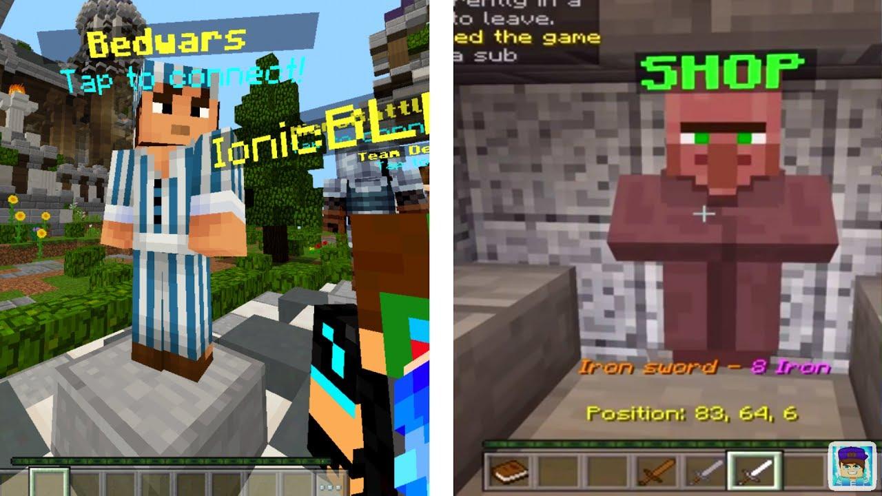 Hypixel Bedwars In Minecraft Pe Minecraft Pe Servers Mcpe 1 1 Servers Youtube