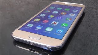Samsung Galaxy J2 4G Gold Full Review and Unboxing(Samsung Galaxy J2 with 4.7 inch Super AMOLED screen and 1GB RAM and 8GB built-in and 5-MP and 2MP front camera with supported 4G., 2015-09-29T07:29:22.000Z)