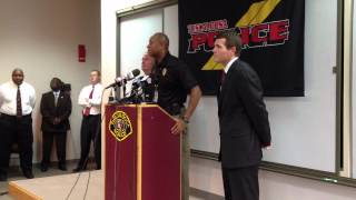 Tuscaloosa Police Department Press Conference - 7/17/2012 at 1:00 PM