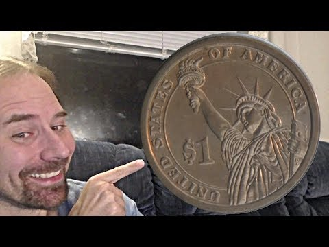 1 dollar 2009 D John Tyler Presidential Dollar  _ Museum Of Money
