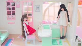 LICCA CHAN DREAM HEIGHTS, VINTAGE DOLLHOUSE, , ,