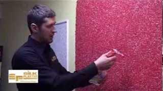 Мастер класс по нанесению жидких обоев Silk Plaster - Литва, ТВ