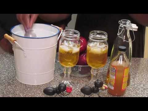 Apple Cider Vinegar With Apple Juice….Healthy Can Feel And Taste Good