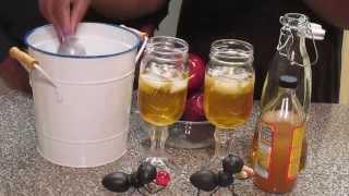 Apple Cider Vinegar With Apple Juice....Healthy Can Feel And Taste Good