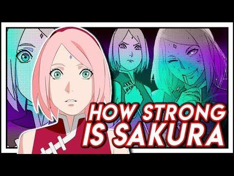 How Stong Is Adult Sakura In Boruto Naruto Next Generations?