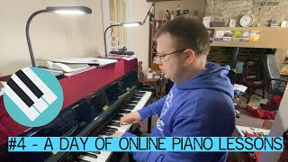 A DAY OF ONLINE PIANO LESSONS!