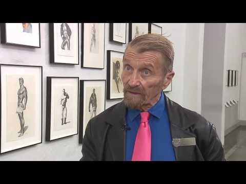 Durk Dehner at The Taidehalli exhibition of Tom Of Finland - Part 2