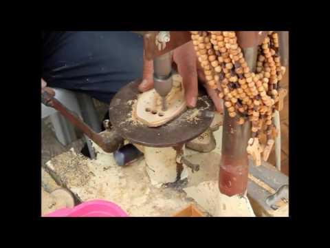 Olive Wood Bead Making In Bethlehem Israel
