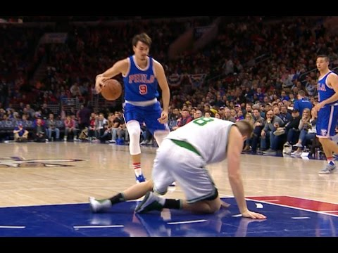 Dario Saric Drops Jerebko And Hits The Jumper! Sick Ankle Breaker |  12.03.16.