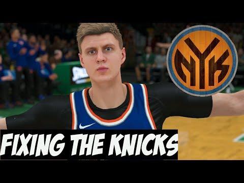NBA 2K18 New York Knicks MyGM | The Master Plan To Fix The Knicks