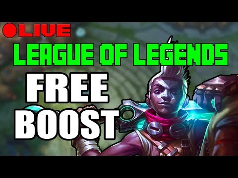 FREE BOOST | NA SERVER ONLY | LEAGUE OF LEGENDS | KOBE LOL | 9-5-2017