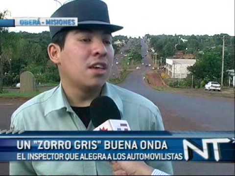 Inspector Cañete, el policía buena onda de Oberá.
