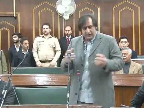 Sajad Lone Assembly Address 2017 (Complete Speech)