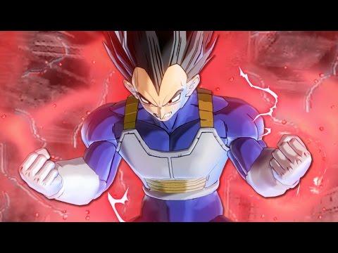 Vegetas New Transformation! SSG Vegeta VS SSR Goku Black MOD Pack! Dragon Ball Xenoverse 2