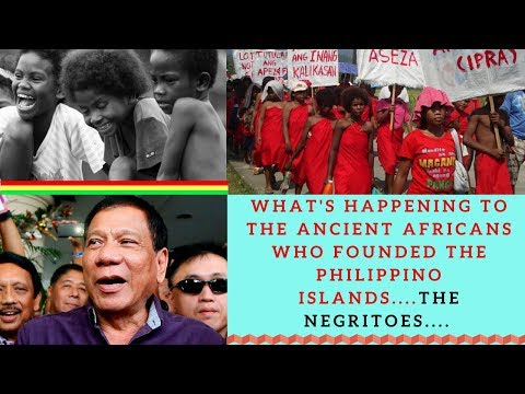 Ancient Africans  Founded The Philippino Islands....Negritoes....