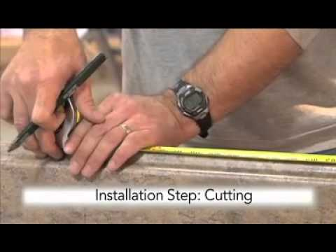Vt Dimensions Countertop Install Youtube