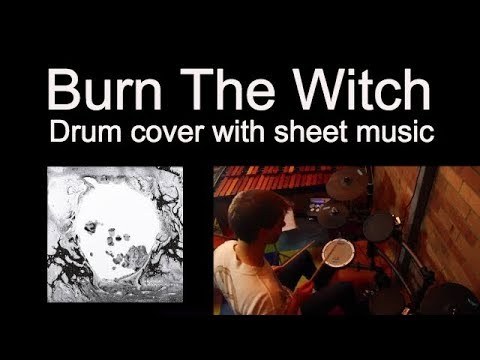 Radiohead - Burn The Witch - Drum Cover + Sheet Music Tab