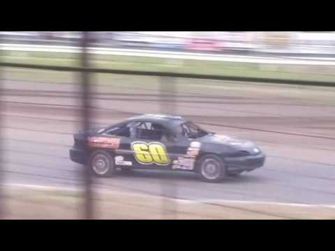 Dustin Virkus @ KRA Speedway- Feature 6.29.17, Part 2