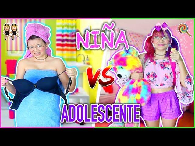 ¡NIÑA vs ADOLESCENTE! Rutina De Mañana Para La ESCUELA - Lulu99
