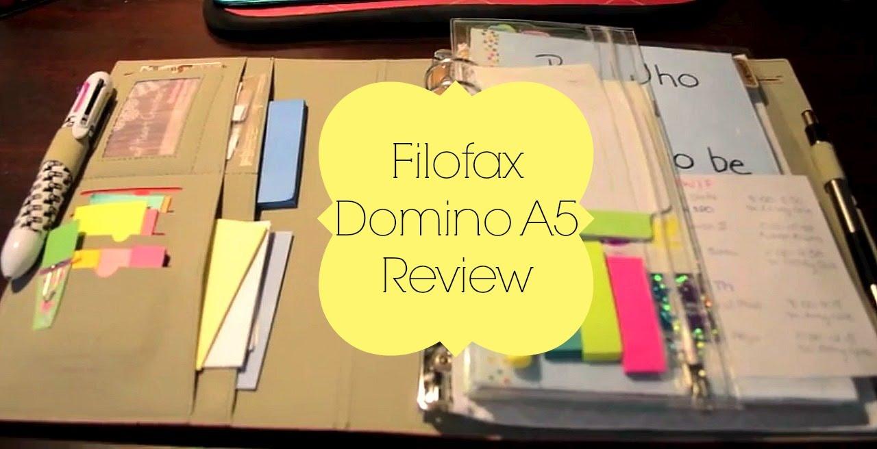 filofax a5 domino review youtube. Black Bedroom Furniture Sets. Home Design Ideas