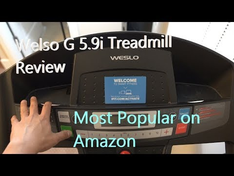 Amazon's Most Reviewed Treadmill: Welso G 5.9i Cadence
