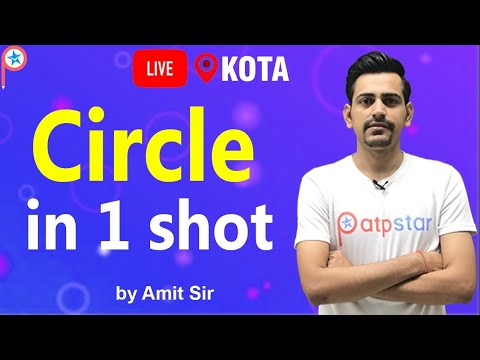 Circle In One Shot By Amit Sir | ATP STAR