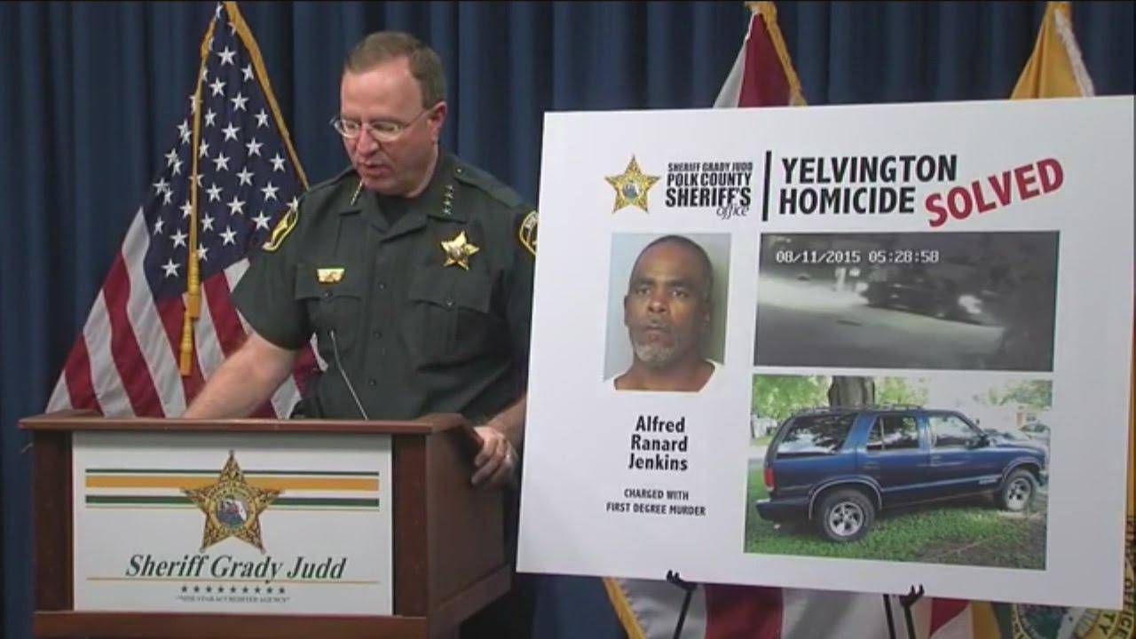 RAW VIDEO: Grady Judd announces arrest in random shooting death of Lake Alfred man