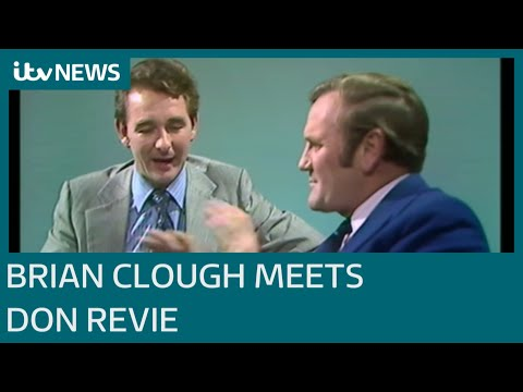 Brian Clough meets Don Revie in that 1974 ITV Calendar interview | ITV News