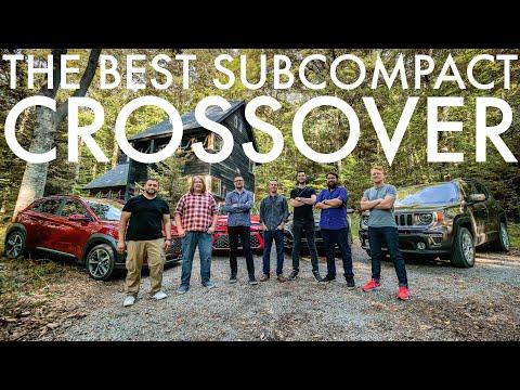 Jeep Renegade vs Kia Soul vs Hyundai Kona vs Honda HR-V | Compact Crossover Comparison Test