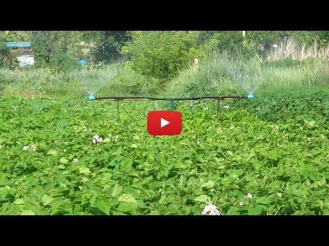 видео: Полив для огорода 2016