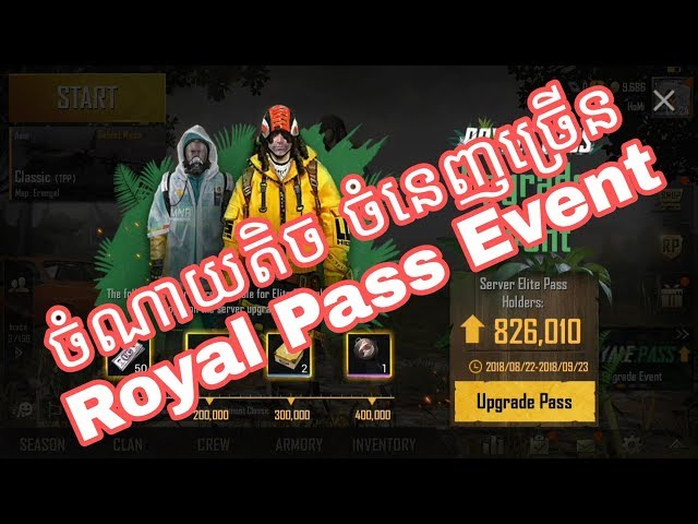 Upgrade Royale Pass PUBG Mobile ???item???????????