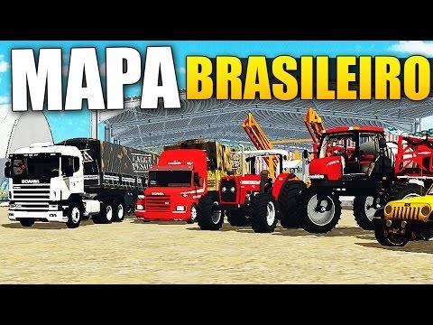 Farming Simulator 15 - Mapa Brasileiro | Fazenda Bacuri (Mods Brasileiros)