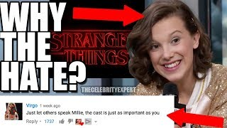 Millie Bobby Brown Why People Hate Her So Much Stranger Things 2018